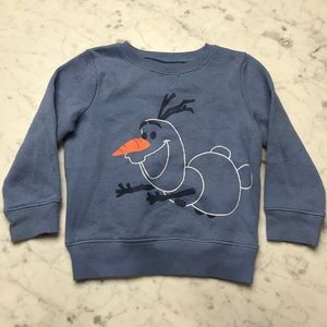 Disney Jumping Beans Frozen Olaf Fleece Sweatshirt